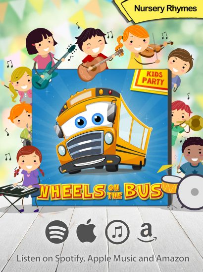 Wheels on the bus nursery rhymes music