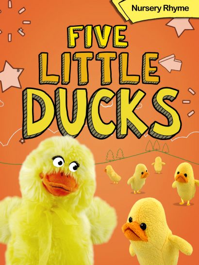 five little ducks animation nursery rhyme