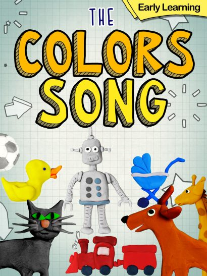 The colors song early learning kids video