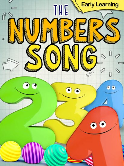 The Numbers Song Early learning Children's video