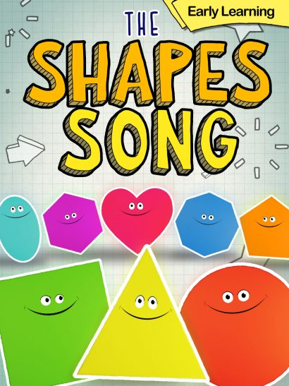 The Shape Song Early Learning Childrens video